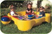 Marian Plast Квадратная песочница-бассейн (374)