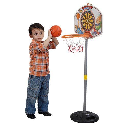 Детское баскетбольное кольцо для дома своими руками