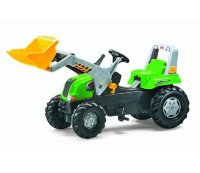 Rolly Toys Педальный трактор Junior RT grun 811465
